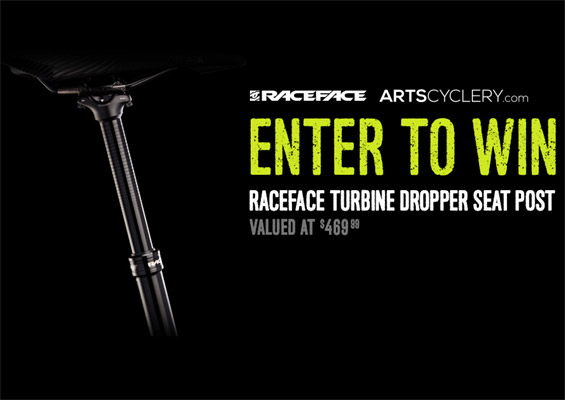 Art's Cyclery Contest- RaceFace Turbine Dropper