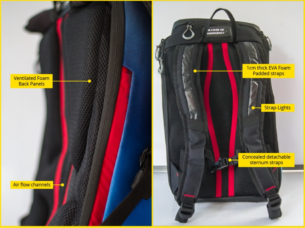On using the largest visible part of a cyclist to improve safety - my project-aster-backpadding-straps.jpg