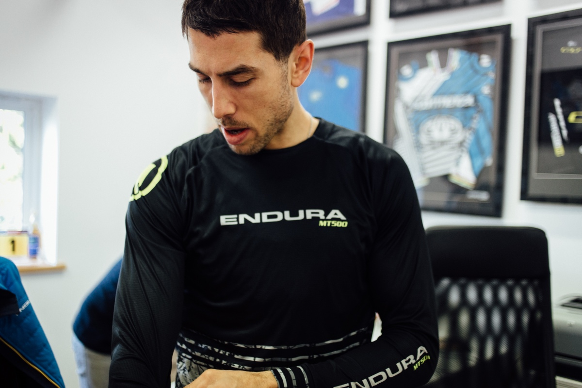 Endura partnering with Atherton Racing