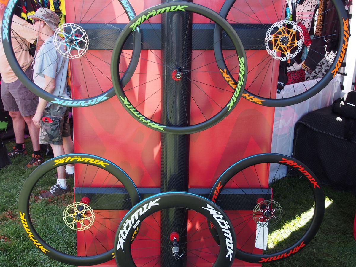 Atomik Carbon Road Wheels