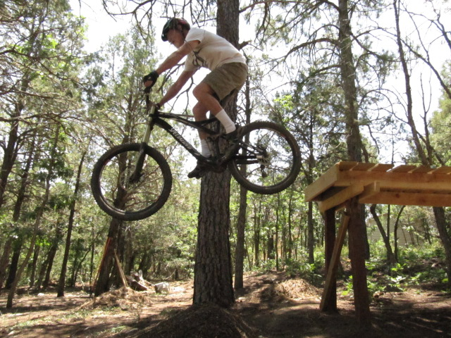How long is the shortest trail that you have enjoyed riding?-back-yard-action-009.jpg