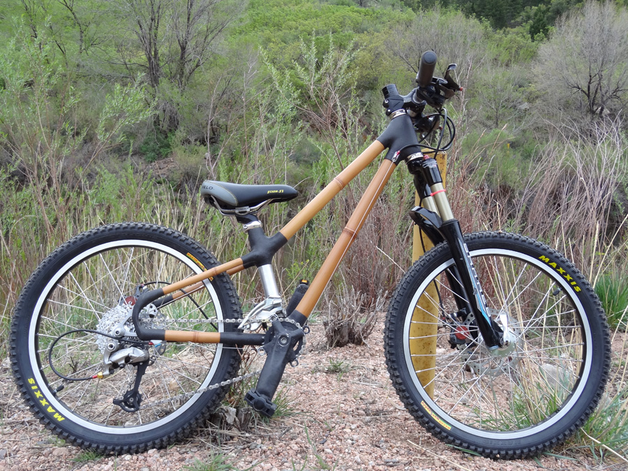 Kids bamboo bike