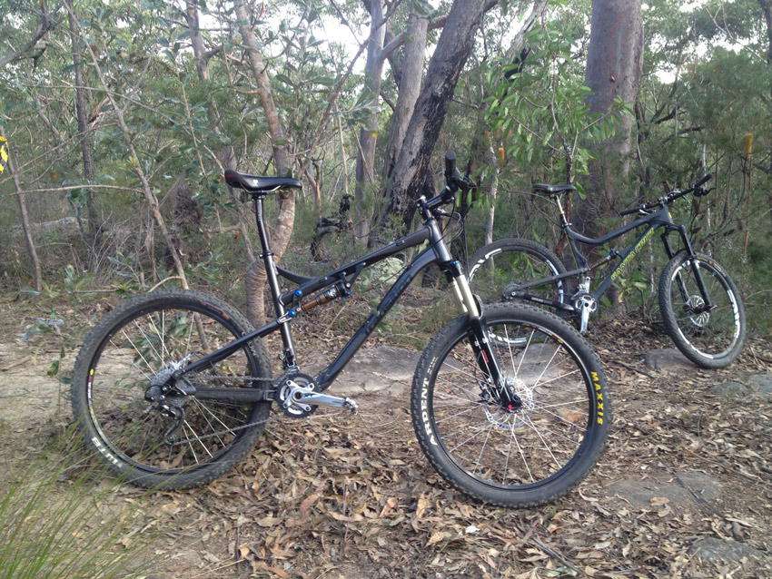 Show us a picture of your 26er MTB that you still use on the trails-bandit.jpg
