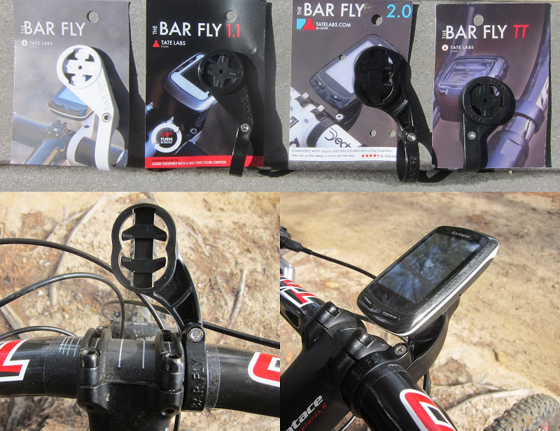 Tate Labs - Bar Fly Bike Computer mounts