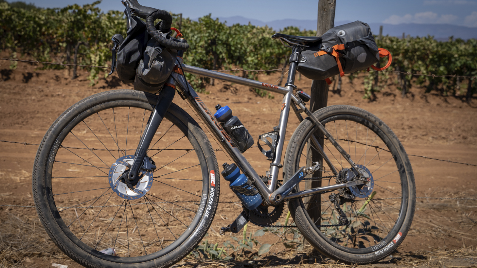 Gravel, bikepacking, and modern hardtails have pushed titanium back into the spotlight. Photo by Sean Burke