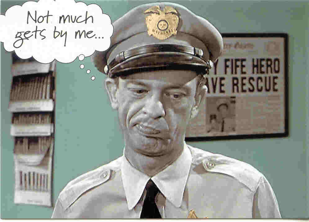 Will smoking weed make you a slow runner?-barney-fife.jpg