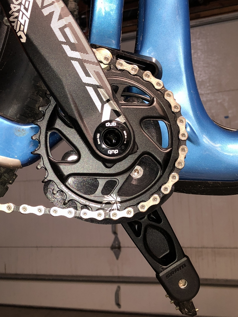Turquoise OneUp Components V2 Chain Guide Top Guide Kit