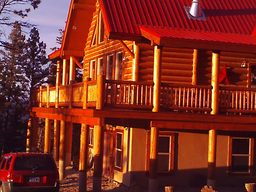 Family Trip to Angel Fire, NM-bass-house-outside.jpg