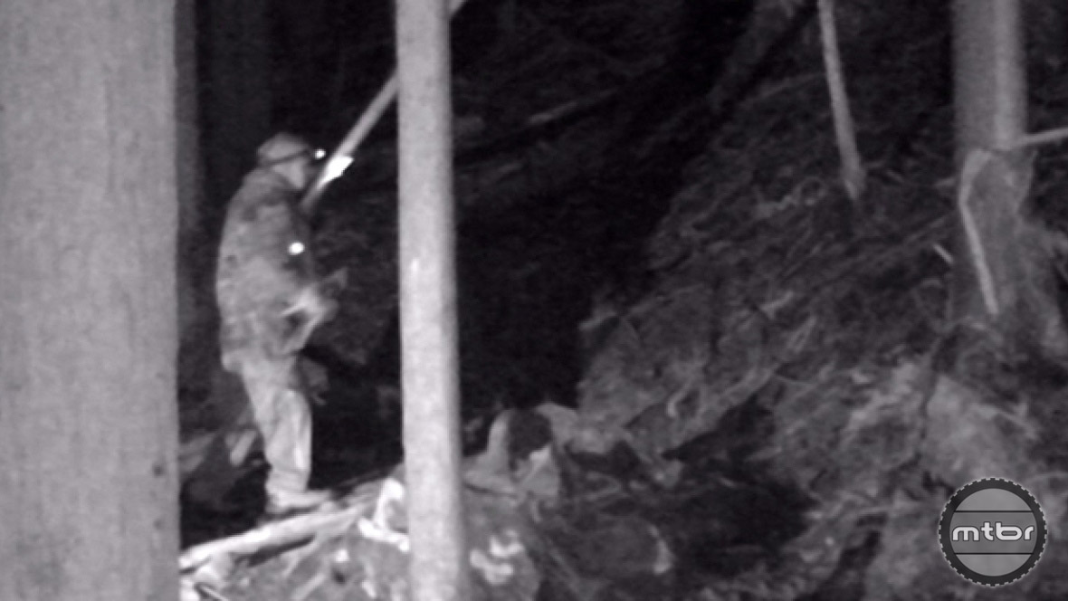 Game cameras were used to expose the North Vancouver saboteur.