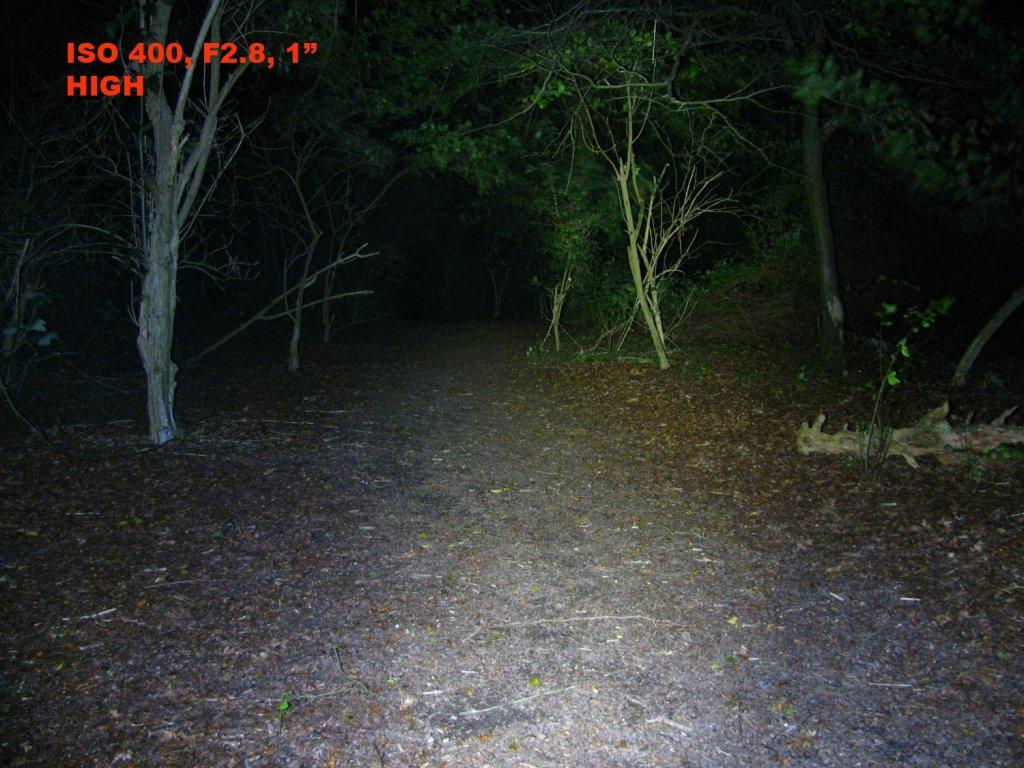 Fenix BC30 Bike Light,  Dual distance beam -Twin XM-L2 T6 review-bc30high.jpg