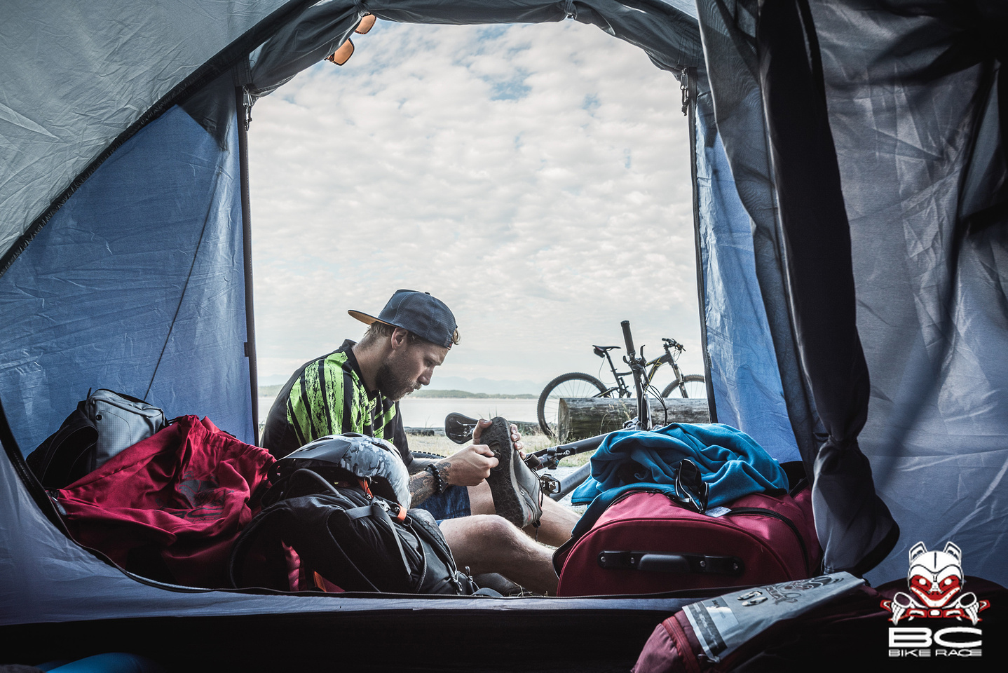 Waking up to this every day before the day's adventures is more than just a race.