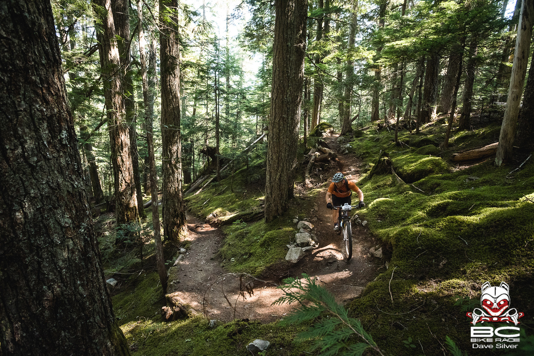 The ultimate singletrack experience. Photo by Dave Silver