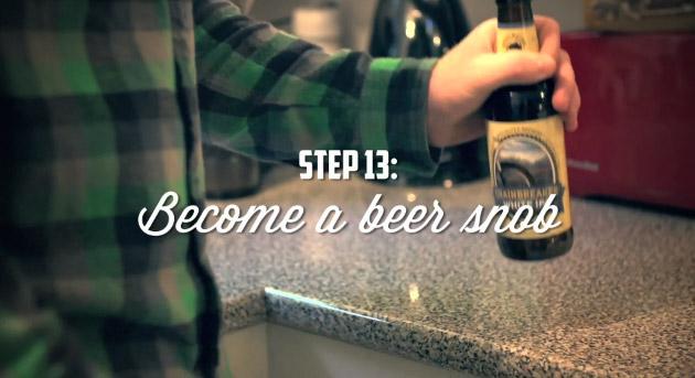 Step 13: Beer Snob