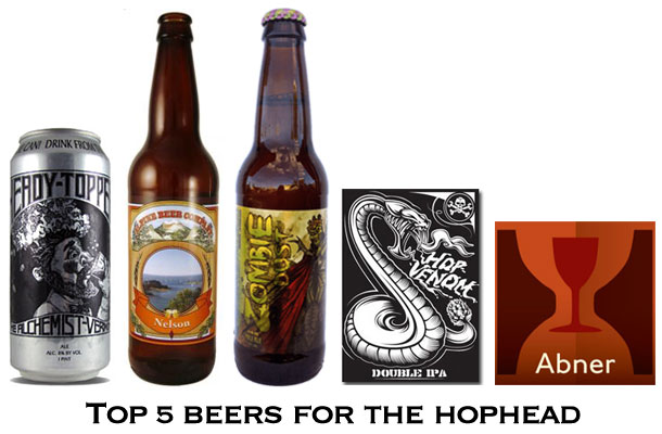 Top 5 Beers for the Hophead