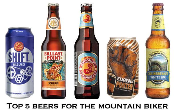 Top 5 Beers for the Mountain Biker
