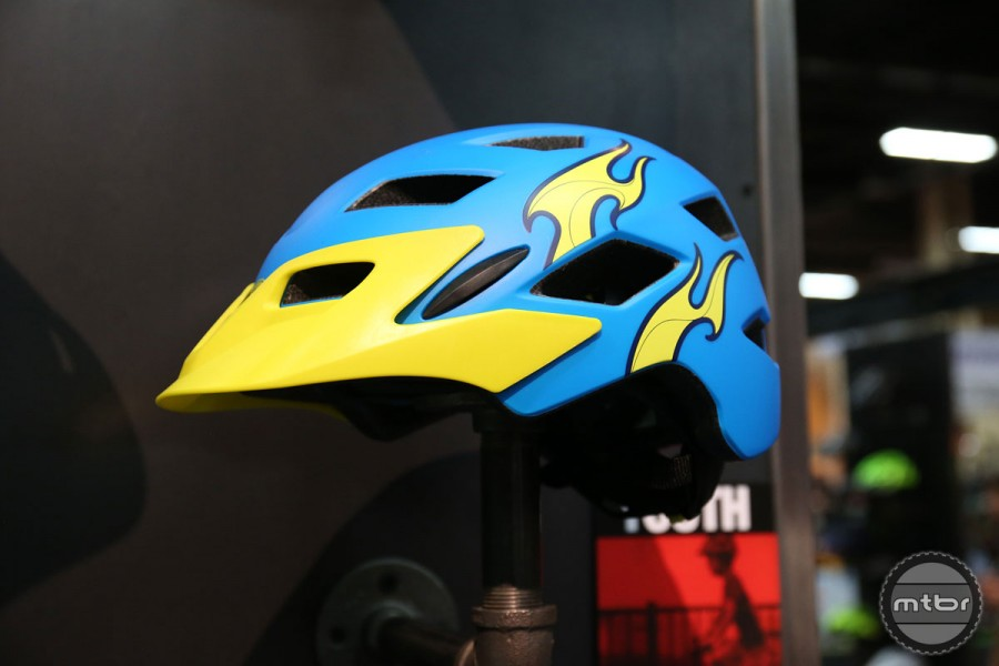 The helmets are available in gender neutral colors or with sweet graphics.