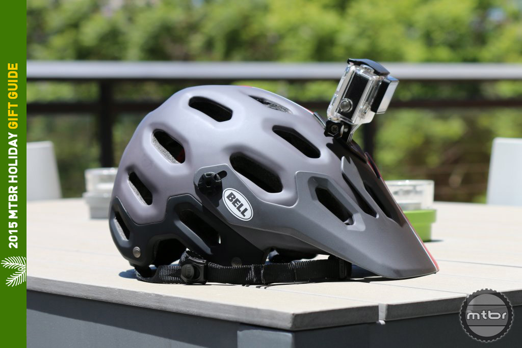 Helmet with Integrated POV Mount