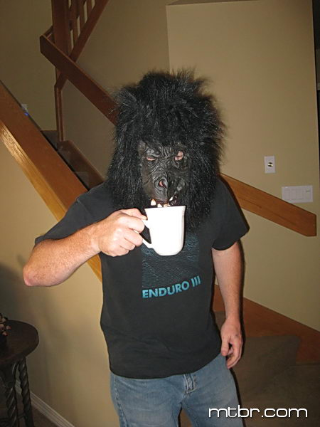 Kyle before his morning cup of coffee