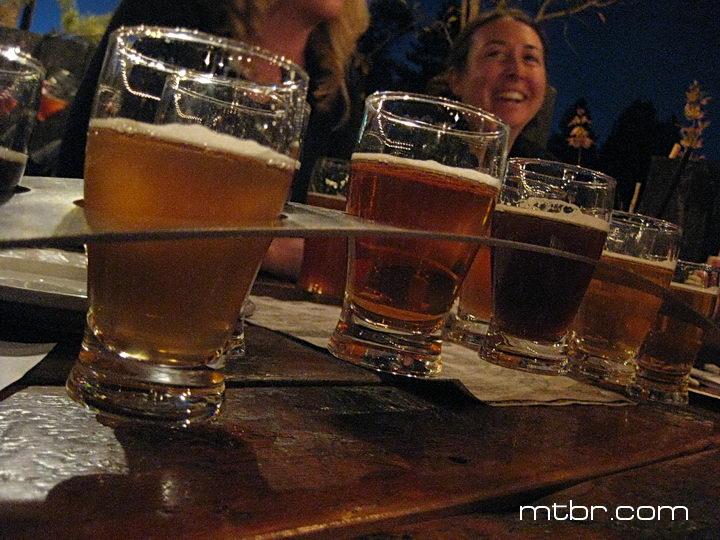 Ten Barrel Brewing Company sampler