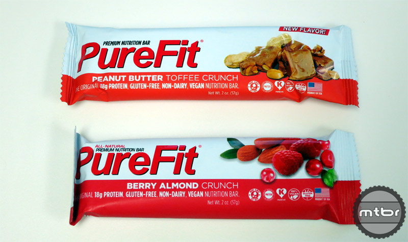 PureFit - Peanut Butter Toffee Crunch and Berry Almond Crunch