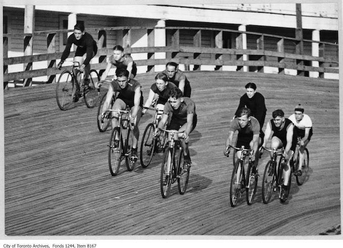 E.C. Throwback Thursday-bicycle-race-velodrome-scarboro-beach-park.jpg