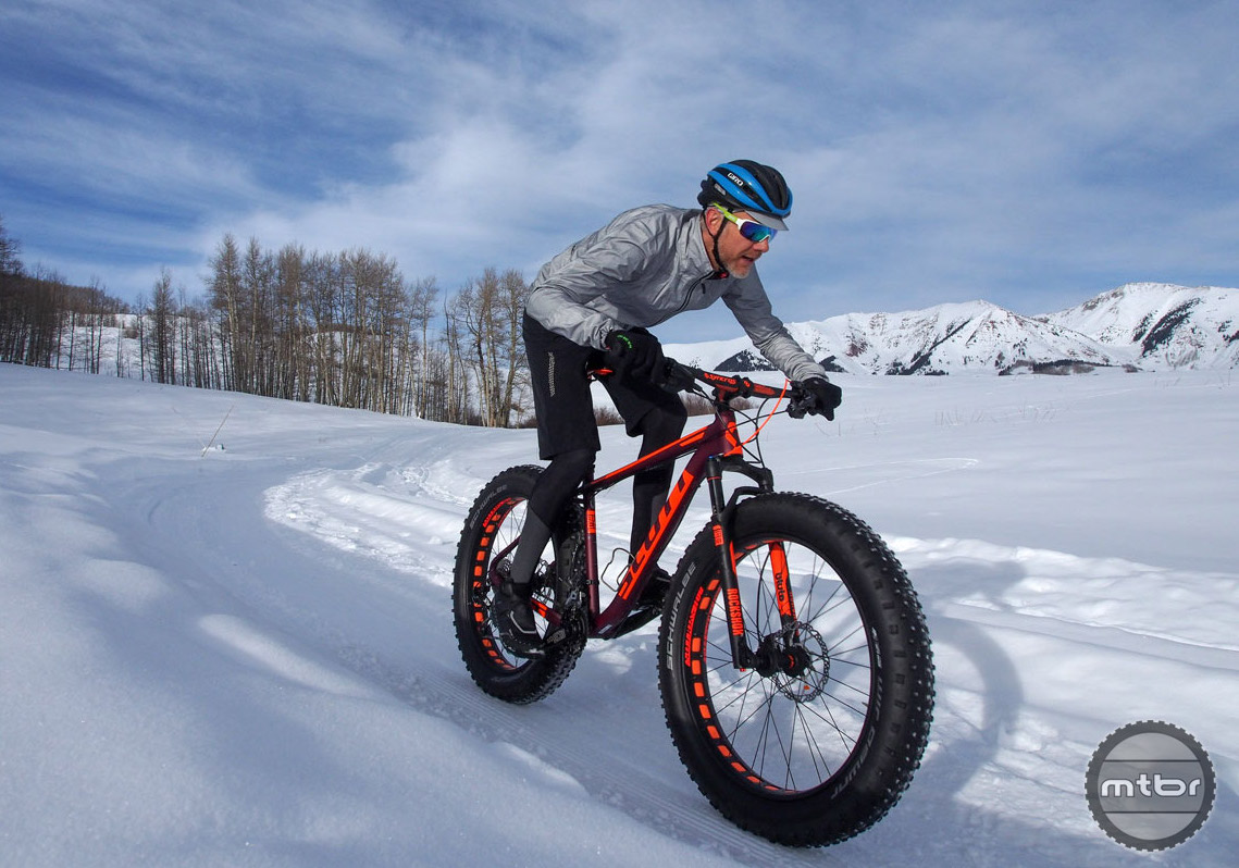 A very small pressure difference can have a huge impact on how fat bike tires perform.