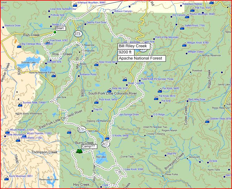 trails around Springerville-biglakeroute.jpg