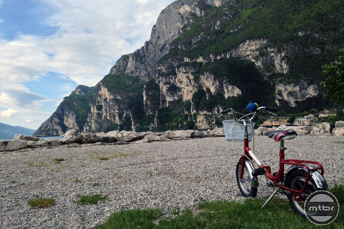 Bike at Lake Garda
