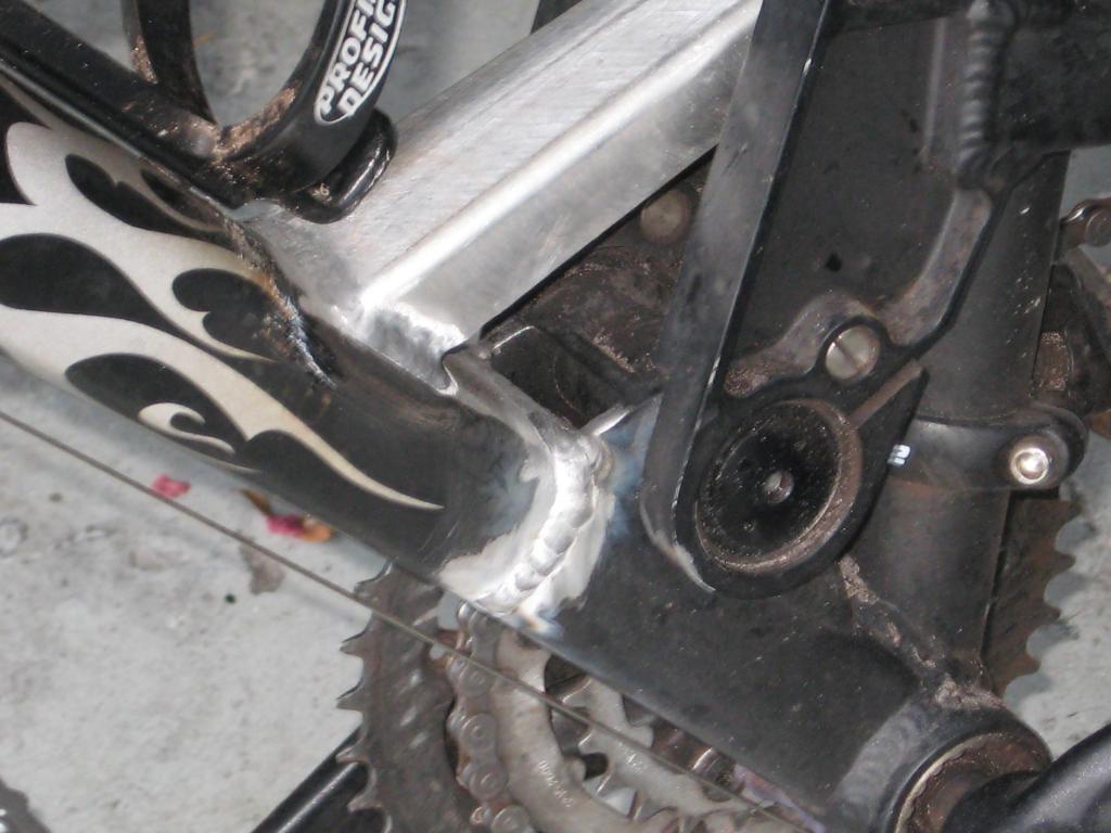 Aluminum Welding For Cracked Frame Mtbrcom