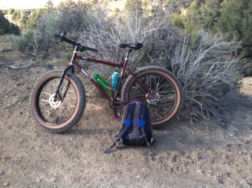 Fat Biking and health-bike-powerline-road.jpg