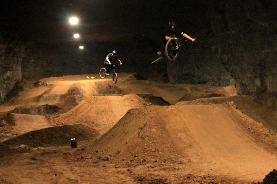 Mega Underground Bike Park Opens In Louisville Kentucky