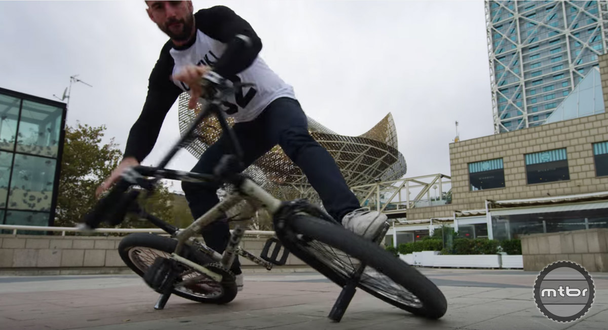 Bike Parkour Barcelona
