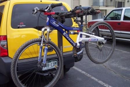 Bike Rack For My New Xterra Mtbr Com