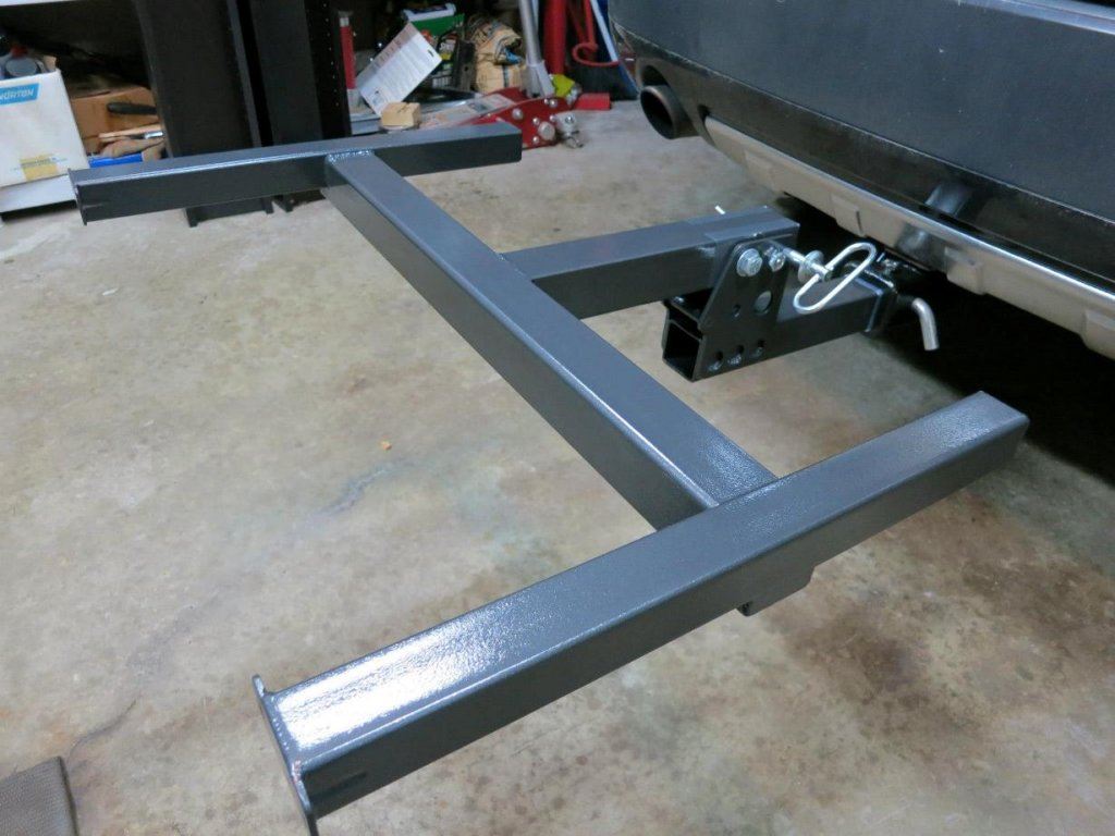 Roof Rack Use On Trailer Hitch Mtbr Com