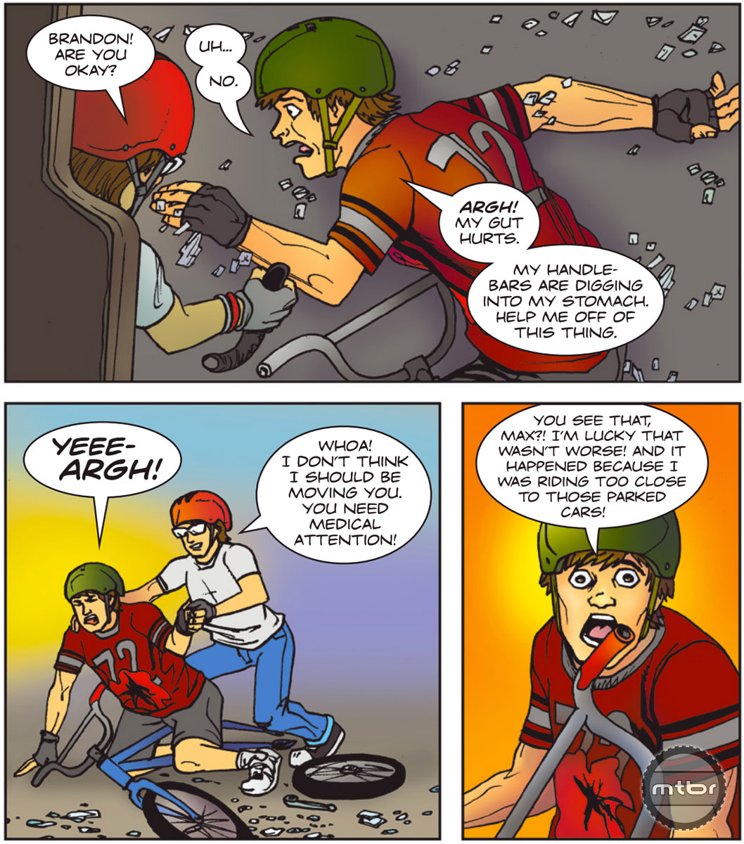 Bike Saftey Comic