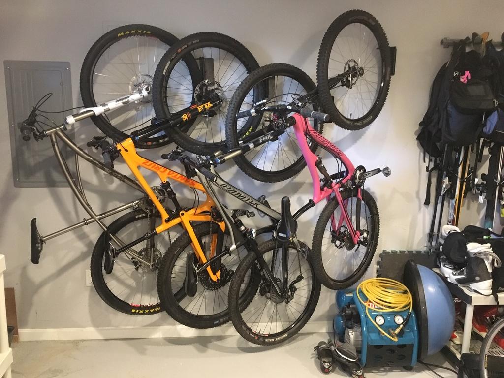 Bike Storage / Stand In Your Garage / Home Bike Storage Basement.