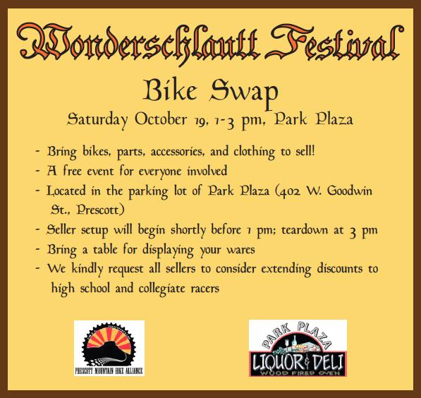 Wonderschlautt is coming back to Prescott Octobeer 18 and 19!-bike-swap.png