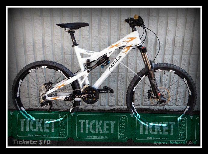 Shimano Saint bike