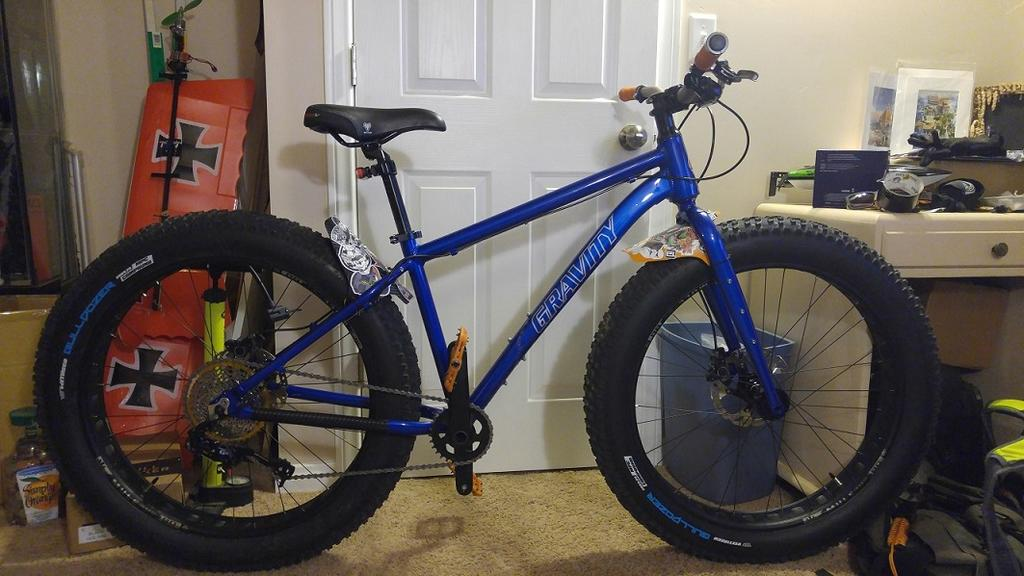 446f4697cd8 BikesDirect 2018 Gravity BullseyeMonster COMP FatBike Q's- Mtbr.com