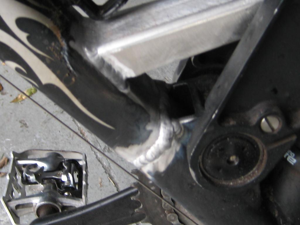 Aluminum Welding For Cracked Frame? Bikefix2