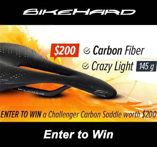 BikeHard Challenger Carbon Saddle Giveaway