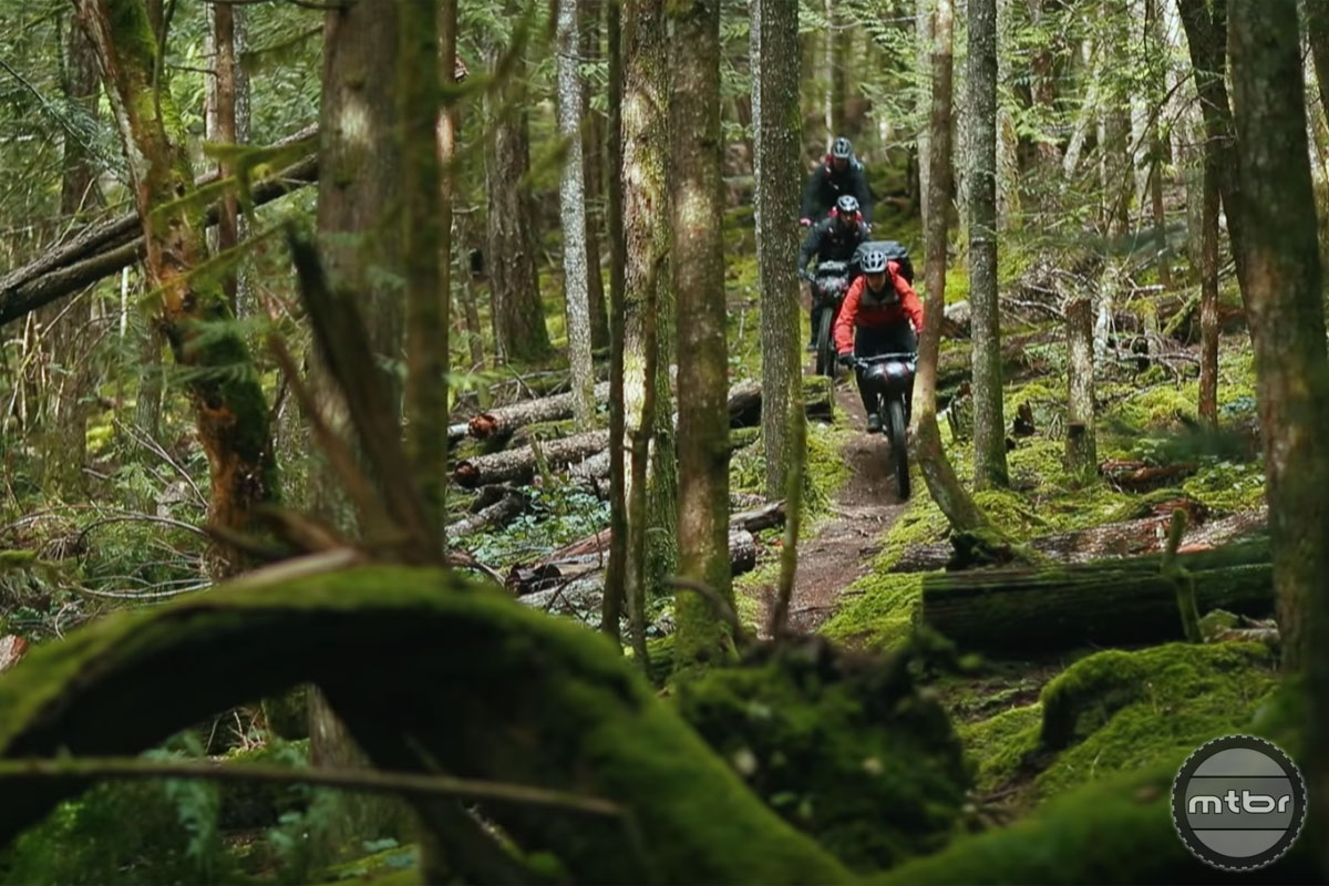 Video: Our first time bikepacking