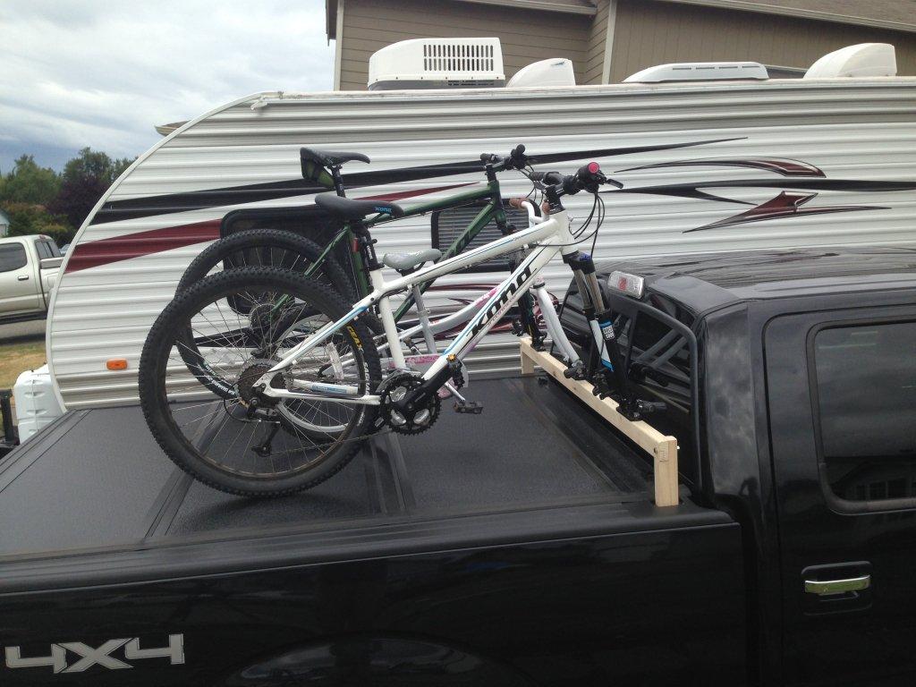 soft tonneau cover bike rack bicycling and the best bike. Black Bedroom Furniture Sets. Home Design Ideas
