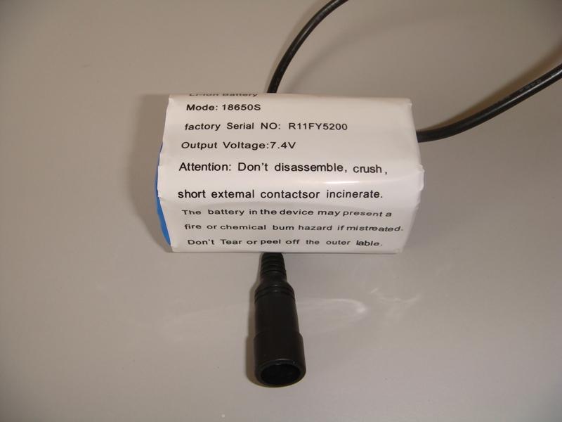 Original MagicShine 4.4Ah Battery for 808E 816E 872 Lights round plug Charger