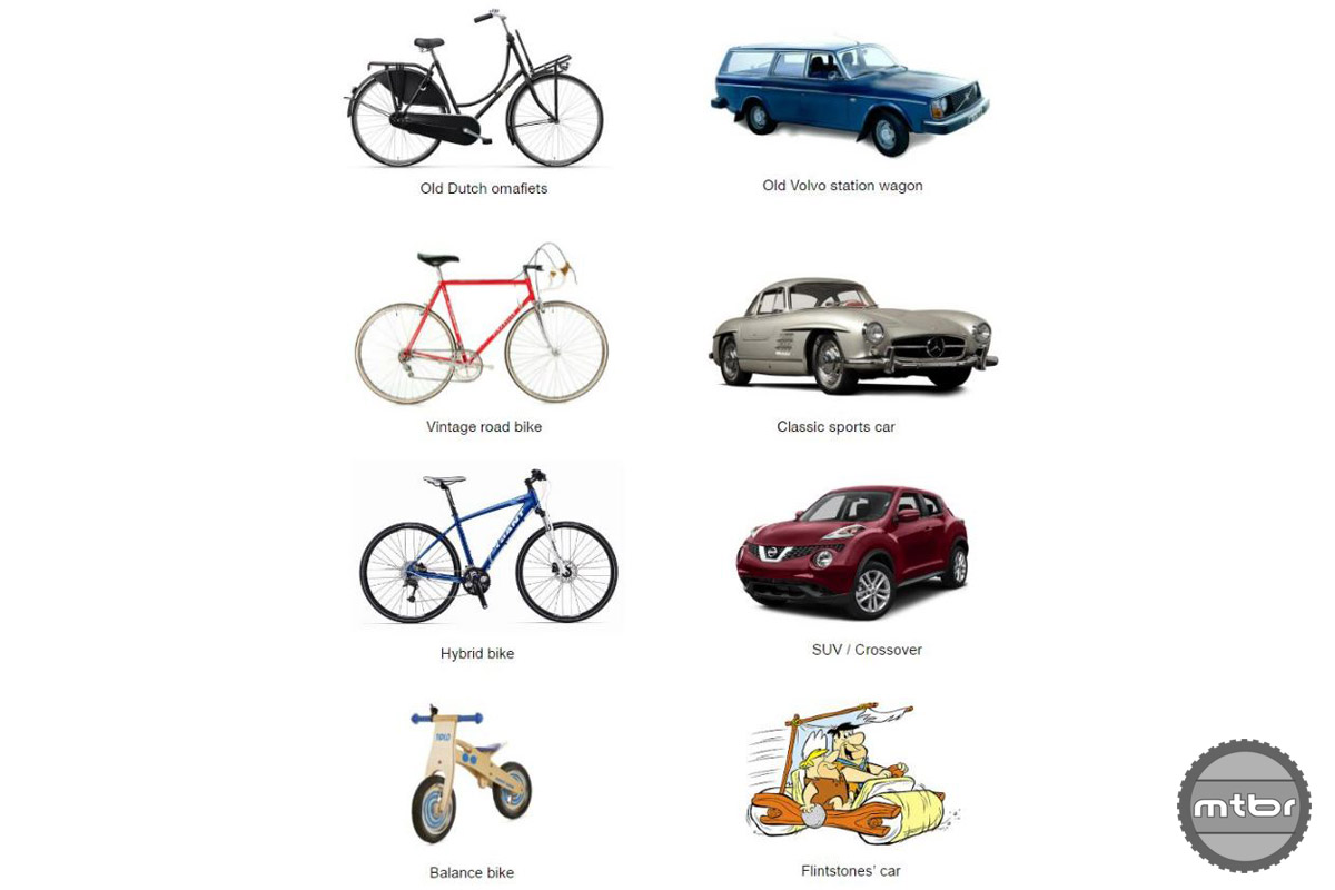 Could the comparison between vintage road bikes and classic sports cars be any better?