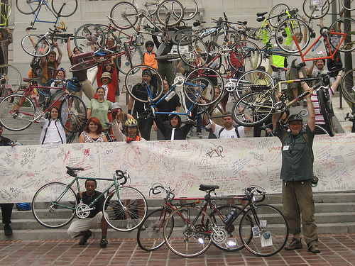 Grab your bike and bike to work on May 12, 2011