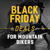 Black Friday is Friday, November 29. Check back soon for the best Black Friday deals for mountain bikers.