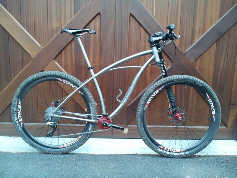 Ti Black Sheep 29er With Lefty