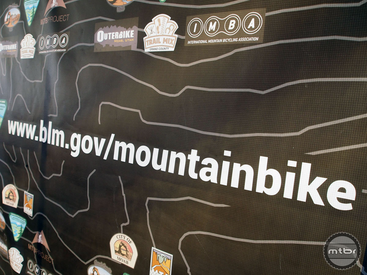 The BLM's massive website now includes a home for mountain bikers.