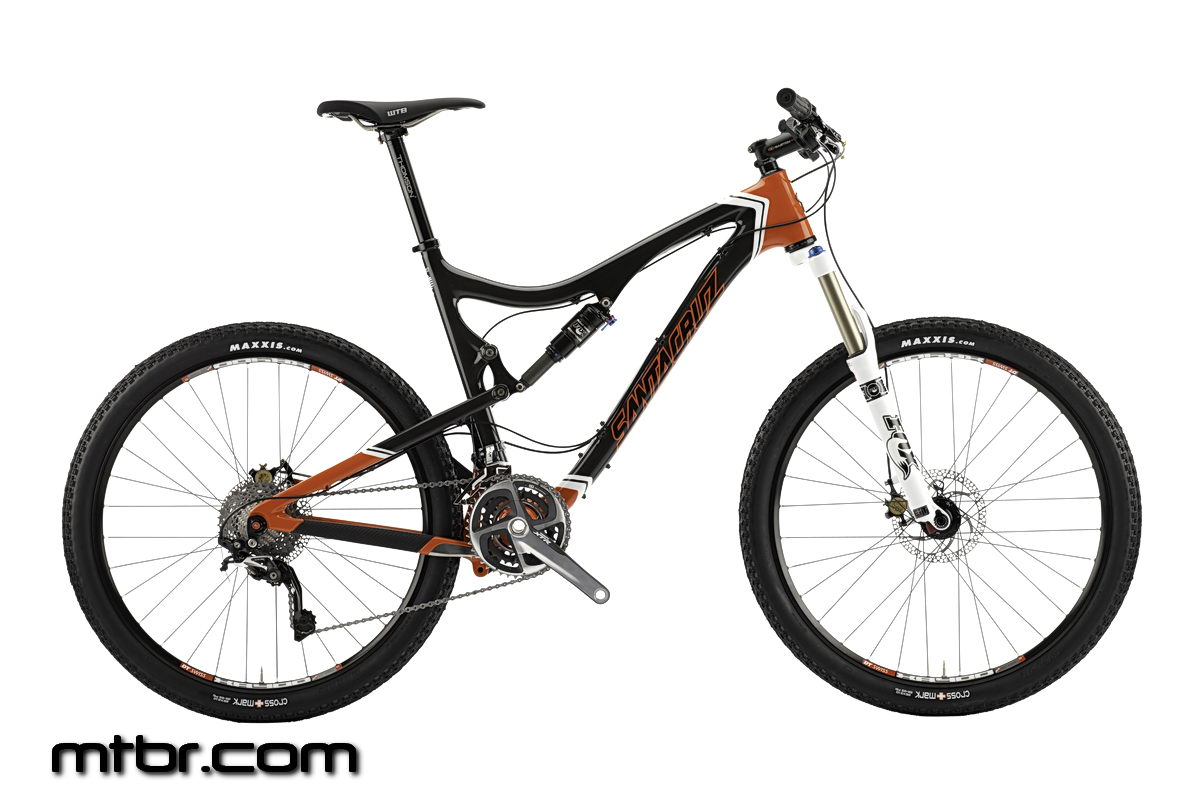 Santa Cruz BlurTRc Carbon Orange White